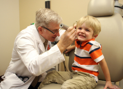 A new UF Health study questions the safety of antibiotic ear drops prescribed to children after ear tube surgery.