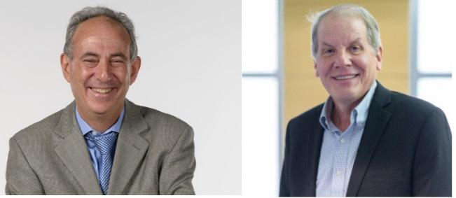 Dr. Desmond Schatz and Dr. Mark Atkinson