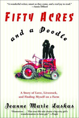 Fifty Acres and a Poodle book cover