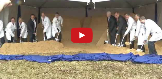 UF Health Groundbreaking Ceremony Video