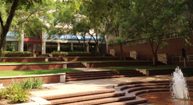 Academic Research Building Courtyard