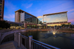 Evening shot of the Neuro-medicine Hospital