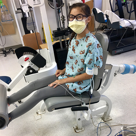 At UF Health, doctors use a special technique to downsize lungs from an adult donor and transplant them into pediatric patients like Nayla. Just another example of the problem-solving care being used at UF Health.