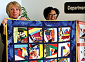 Local nonprofit donates quilts to UF Health Shands Psychiatric Hospital