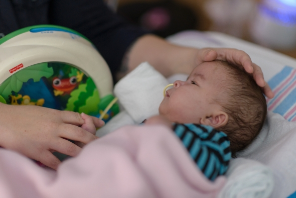 Conjoined twins connected at the heart, sternum, diaphragm and liver were recently successfully separated, and now are preparing to go home.