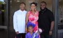 Christina Hall and her family