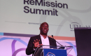 Dr. Duane Mitchell talks to the audience at the Remission Summit