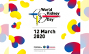graphic with text that reads world kidney day 12 March 2020
