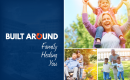 Brochure image reading Built adound family, healing, you