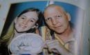 Sarah Wheeler and her father.