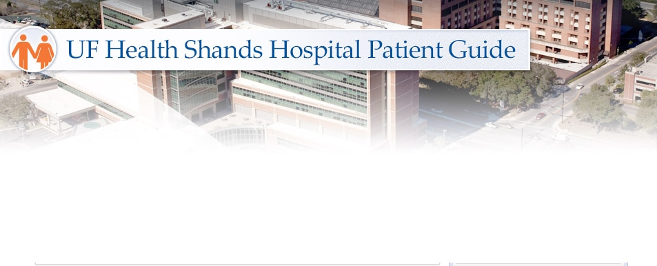 Meals and Dining Options | UF Health Shands Hospital Patient Guide ...
