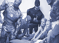 Superheroes descend on UF Health Shands Children's Hospital to brighten the day for patients
