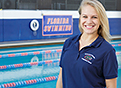Anna-Liisa Pold, former Olympian and Gator swimmer now working toward dream of becoming an occupational therapist
