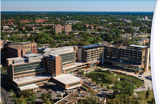 UF Health Shands Hospital is tied for first in the U.S. News and World Report hospital rankings, and ranks in the top 50 in eight specialties.